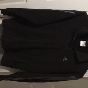 Men's adidas blk and gray jacket size md